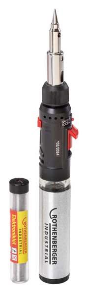 Rothenberger Hot Pen gáz forrasztópáka forrasztó készlet gázforrasztó piezo 800 C 36060