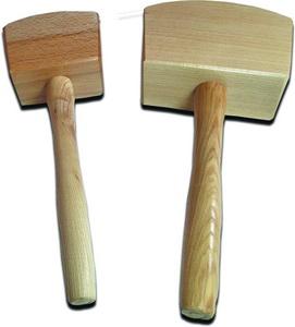 Asztalosipari fa kalapács 650g