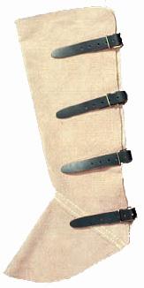 Hegesztő lábszárvédő lábszárvédő hegesztőknek védőruha munkavédelmi felszerelés 4 csatos 57KAMSV