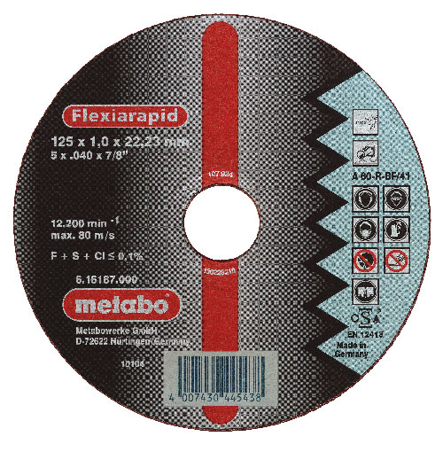 METABO vágókorong FLEXIRAPID 350×3,5×25,4 mm 616203000