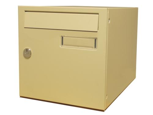 Mars egyajtós postaláda leveles láda levélszekrény lakkozott 6361