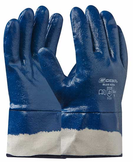 Nitril kesztyű BLUE NITRIL 9-es méret 709515