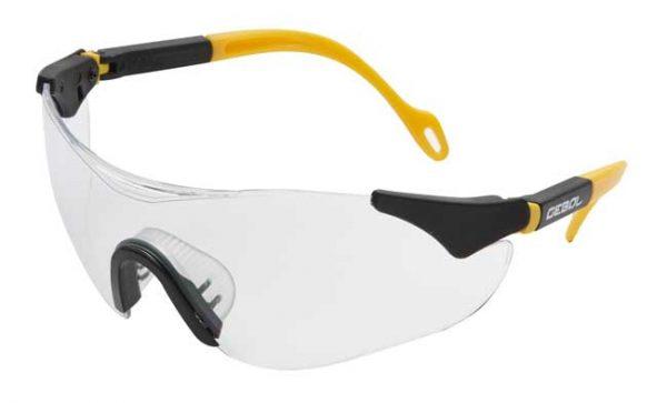 Munkavédelmi szemüveg SAFETY COMFORT – víztiszta 730001
