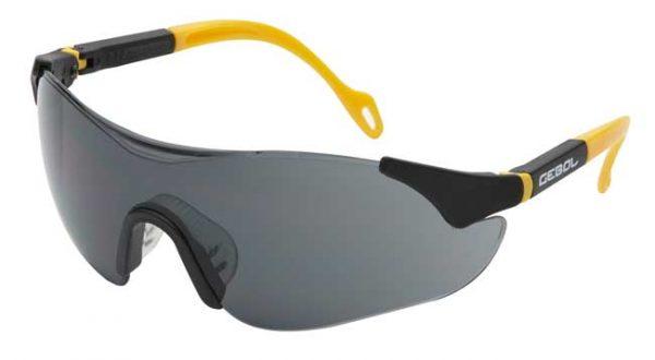 Munkavédelmi szemüveg SAFETY COMFORT – sötét 730002