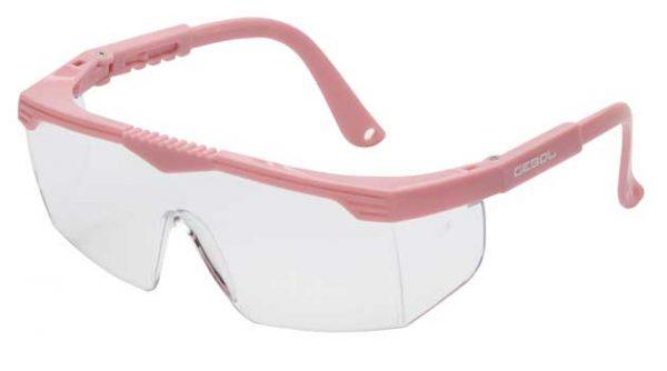 Munkavédelmi szemüveg SAFETY KIDS – rózsaszín 730021