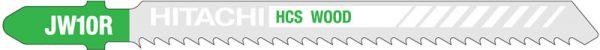 HITACHI – szúrófűrészlap fa vágására JW10R- 5 db. 750019