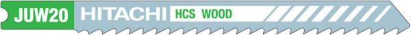 HITACHI – szúrófűrészlap fa vágására JUW20- 5 db. 750023