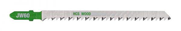 HITACHI – szúrófűrészlap fa vágására JW60- 5 db. 750027