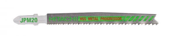 HITACHI – szúrófűrészlap fémek vágására JPM20- 5db. 750033