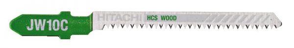 HITACHI – szúrófűrészlap fa vágására JW10C- 5 db. 750036