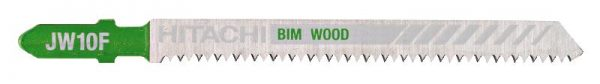 HITACHI – szúrófűrészlap fa vágására JW10F- 5 db. 750037