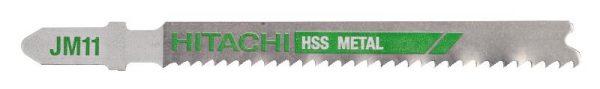 HITACHI – szúrófűrészlap fémek vágására JM11- 5db. 750040