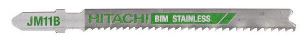 HITACHI – szúrófűrészlap fémek vágására JM11B- 5db. 750041