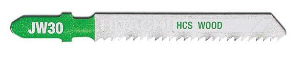 HITACHI – szúrófűrészlap fa vágására JW30- 5 db. 750042