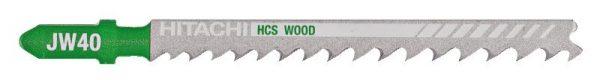 HITACHI – szúrófűrészlap fa vágására JW40- 5 db. 750043