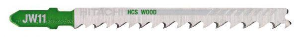 HITACHI – szúrófűrészlap fa vágására JW11- 5 db. 750045
