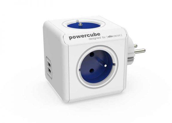 PowerCube ORIGINAL USB fehér / kék 82262