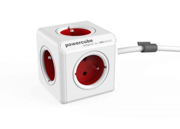 PowerCube EXTENDED 3m fehér / piros 82415