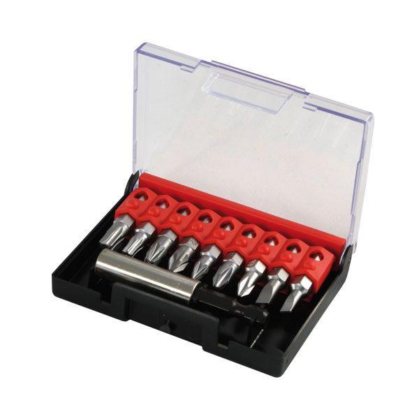 """NAREX – 1/4""""-os bithegy készlet mágneses tartóval, műanyag…"""