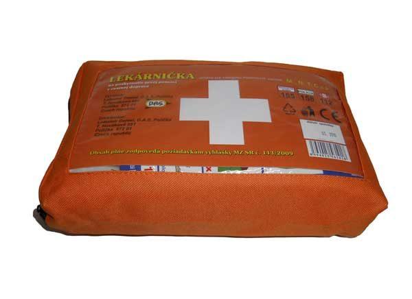 Egészségügyi mentődoboz Szlovákia – textil AUTOL ASK