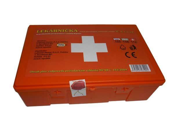 Egészségügyi mentődoboz Szlovákia – műanyag doboz AUTOL CSK