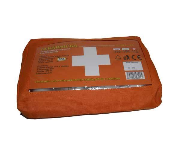 Motoros egészségügyi mentődoboz – textil AUTOL E