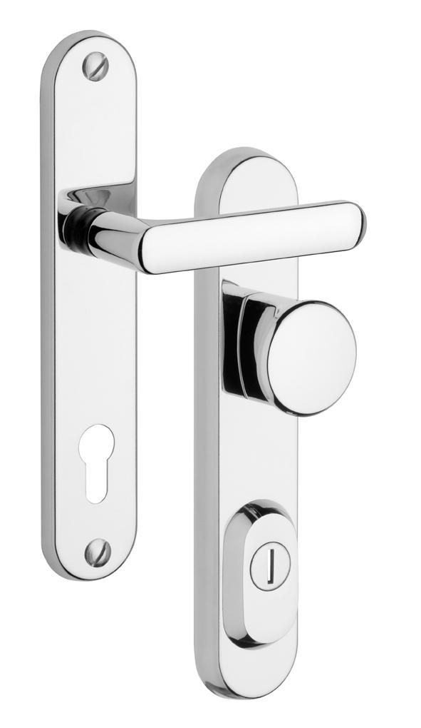 Rostex BK R1/O/90 biztonsági ajtó kilincs egy fogantyúval betét nélkül RX4037527203