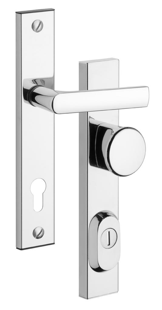 Rostex BK R1 / 90 rozsdamenetes biztonsági ajtó kilincs ajtógombbal betét nélkül RX4043800200