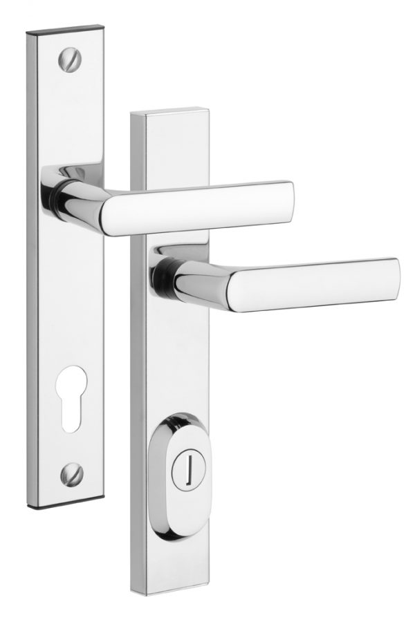 Rostex BK R4 /90 mm  rozsdamenetes biztonsági ajtó kilincs betét nélkül RX4043870200