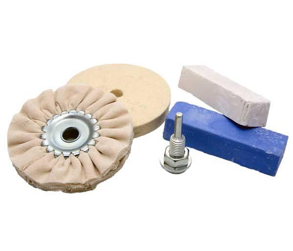 MAGG HOBBY polírozó  készlet 100  mm  átmérő BL93SET