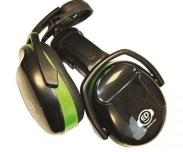 Magg fülvédő zajvédő sisakrögzítéssel hallásvédő fültok zöld ED1C