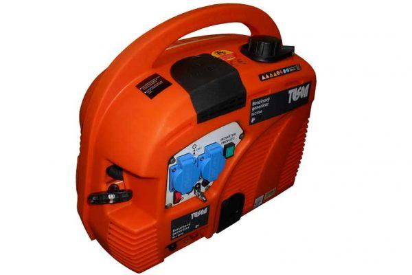 TUSON benzines áramfejlesztő generátor aggregátor egyfázisú 750W kimenet 2x220V ELC1000