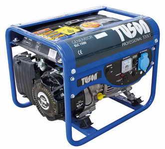 TUSON benzines áramfejlesztő generátor aggregátor egyfázisú 1200W kimenet 1x220V ELC1500