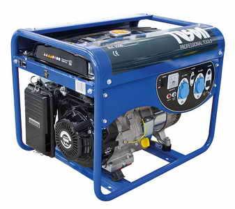 TUSON benzines áramfejlesztő generátor aggregátor egyfázisú 2800W kimenet 2x230V ELC3500
