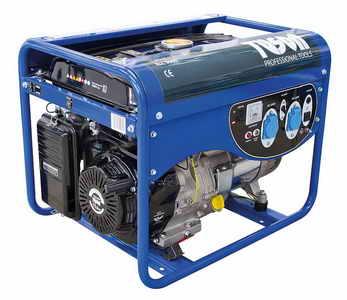 TUSON benzines áramfejlesztő generátor aggregátor egyfázisú 4500W kimenet 2x230V ELC5000