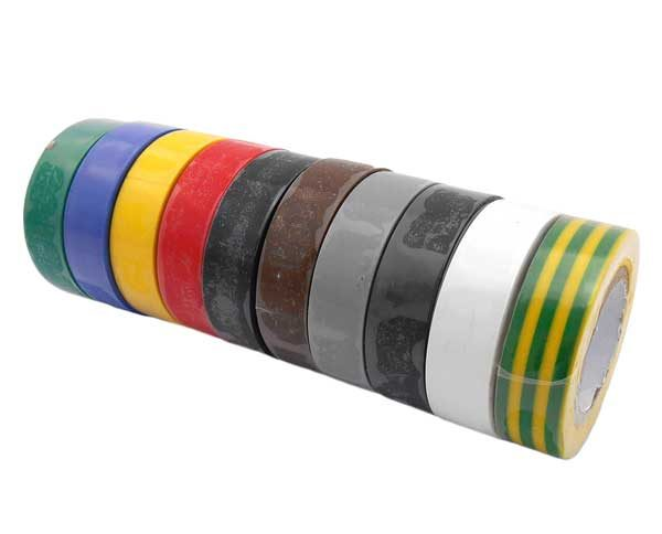 GEKO – Szigetelőszalag 15mm x 10 m. Több színben. 10 db