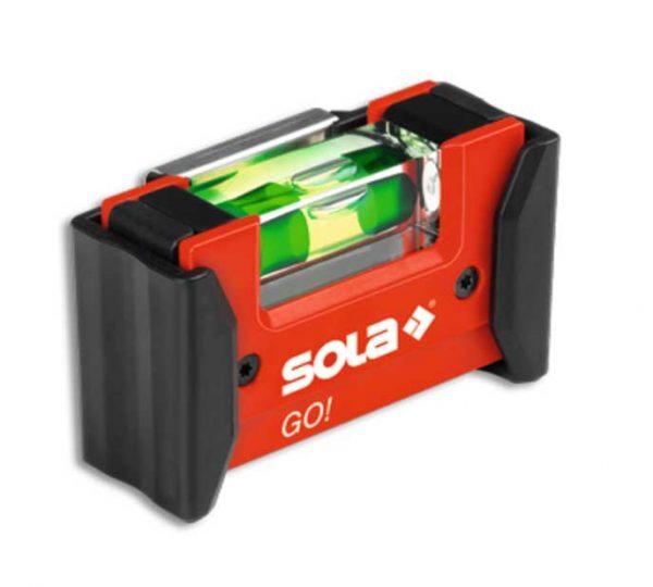 SOLA – GO! CLIP kompakt vízmértékek 7,5cm
