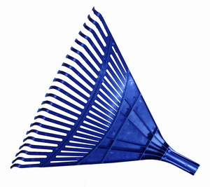 Lombseprű gereblye 50 cm -műanyag HRSV50
