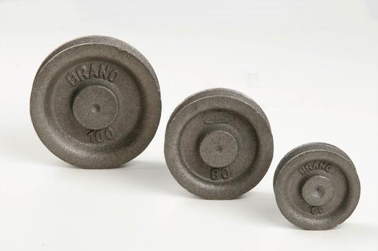 BRANO – kőműves csiga, öntvény 90 mm KL090