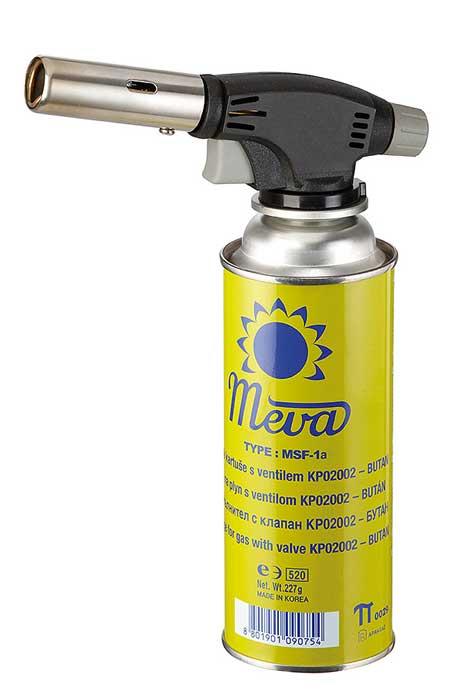 Meva Uni gázforrasztó gázégő forrasztó 4 palackkal piezo KP18004