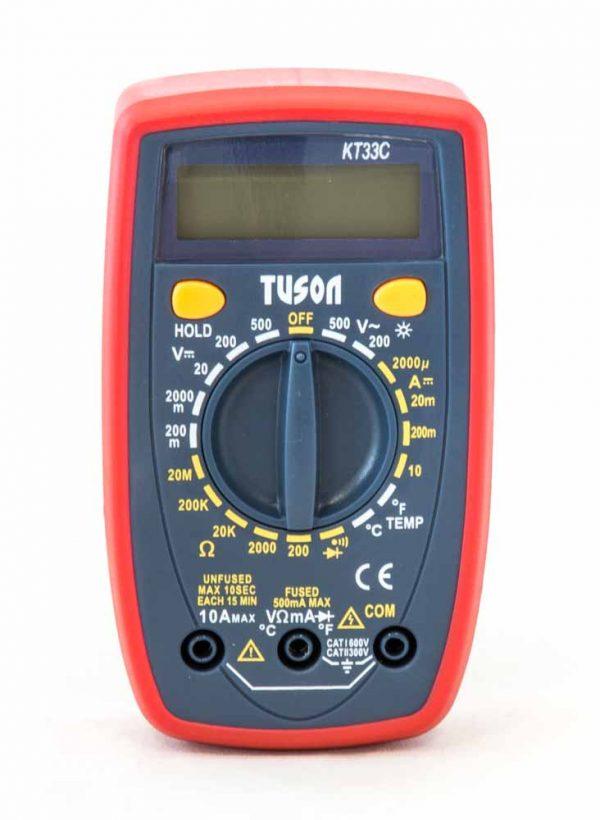 Tuson – Digitális multiméter KT33C