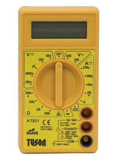 Tuson – Digitális multiméter basic KT831