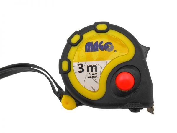MAGG mérőszalag 3m mágneses véggel LAND03
