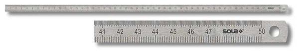 SOLA LSS Acélvonalzó vonalzó 1000mm hosszú 13 mm széles 56103701
