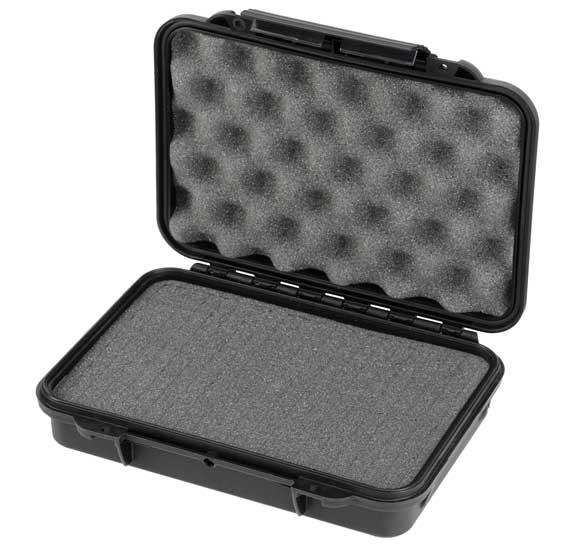 MAXI Manyag koffer 230x175x53 mm IP 67 fekete MAX002S