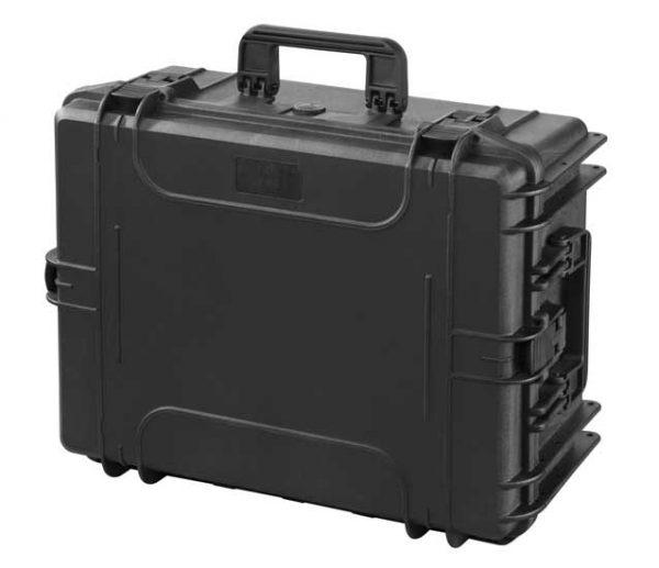 MAXI Műanyag koffer 594x473x270 mm, IP 67, fekete MAX540H245S