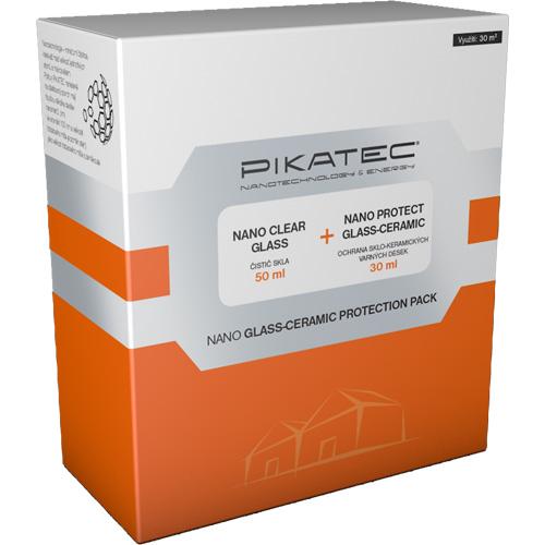 PIKATEC üveg – kerámia tisztító készlet háztartási készlet tisztítószer 180231010080