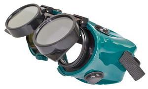 Hegesztő védőszemüveg – felhajtható kerek lencsék, üveg… OB159