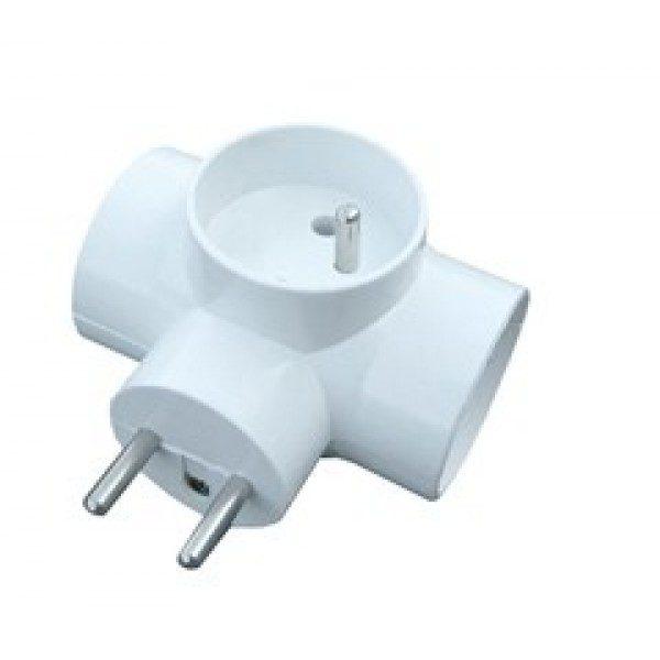 Elosztó dugalj aljzat 3×10 / 230V P91