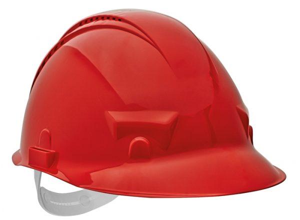 PALADIO sisak szellőzővel – piros, szabvány EN397 PALADIO-CER